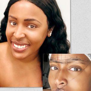 eyebrow microbading